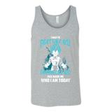 Super Saiyan - Vegeta God Blue Fight Like Hell - Unisex Tanktop T Shirt - TL00816TT