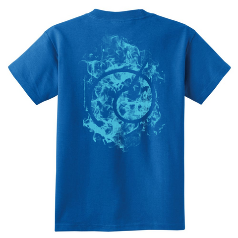 Super Saiyan - Saiyan SS Blue - Youth Kid T Shirt - TL00896