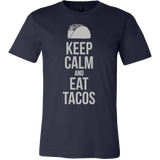 Taco mexican keep calm and eat tacos Men Short Sleeve Funny T Shirt -TL00597SS