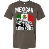 Super Saiyan Mexican Grown Saiyan Roots Men Short Sleeve T Shirt - TL00156SS