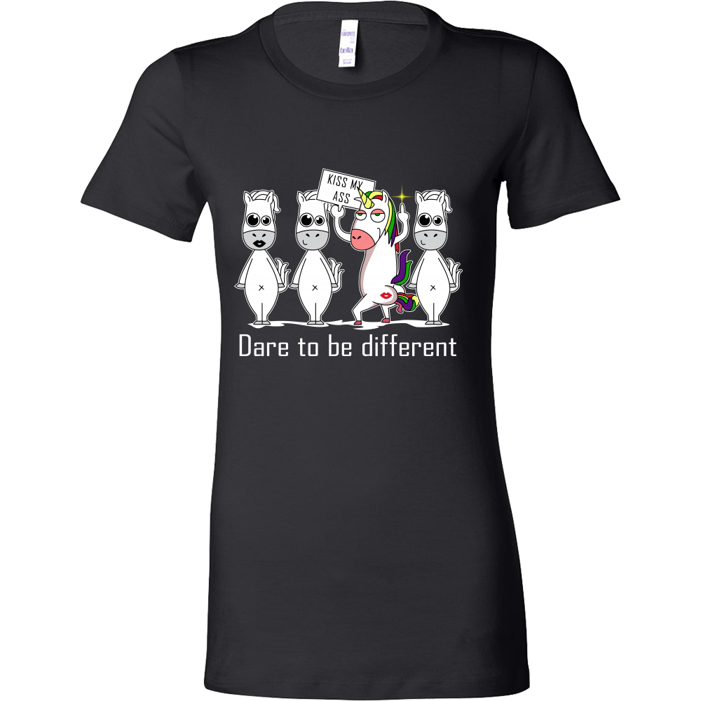 Unicorn - Dare to be different - Women Short Sleeve T Shirt - TL01303WS