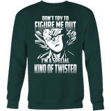 Super Saiyan Majin Vegeta Kind of Twisted Sweatshirt T shirt - TL00434SW