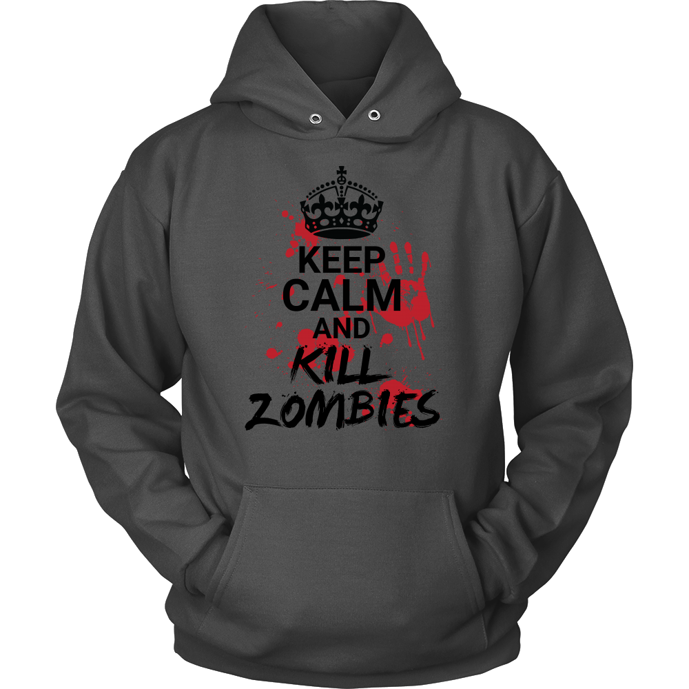 Halloween - Keep calm and kill zombies - Unisex Hoodie T shirt - TL00725HO