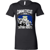 Super Saiyan Connecticut Woman Short Sleeve T Shirt - TL00163WS