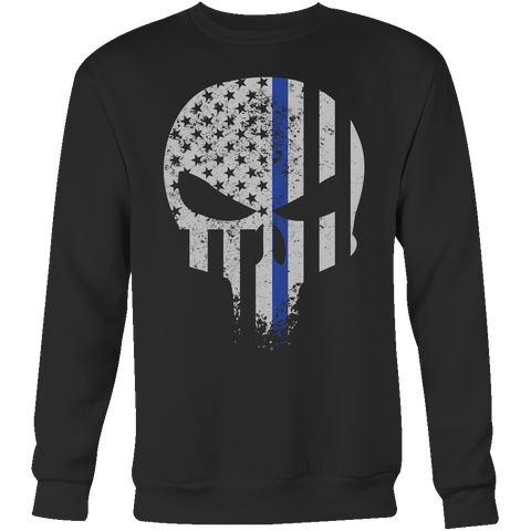 Threadrock Honor & Respect Skullcap Sweatshirt T Shirt - TL00638SW