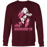 Super Saiyan His Android 18 Sweatshirt T Shirt - TL00499SW