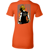Super Saiyan Goku Woman Short Sleeve T shirt - TL00032WS