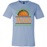 Taco mexican i wish i was a full of instead of emotions Men Short Sleeve Funny T Shirt - TL00594SS