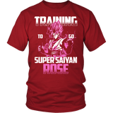 Super Saiyan - Training to go Super Saiyan Rose - Men Short Sleeve T Shirt - TL00817SS