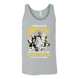 Super Saiyan Connecticut Unisex Tank Top T Shirt - TL00092TT