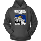 Super Saiyan I May Live in Wisconsin Unisex Hoodie T shirt -TL00147HO