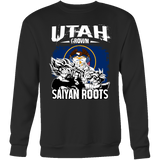 Super Saiyan Sweatshirt T shirt - FOR UTAH FANS - TL00162SW