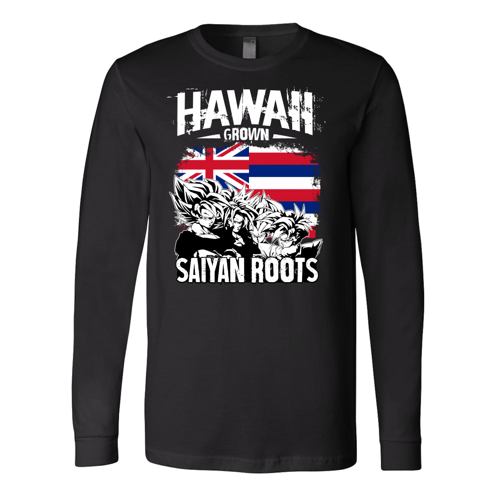 Super Saiyan Long Sleeve T shirt - FOR HAWAII FANS - TL00165LS