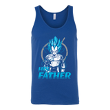 Super Saiyan Vegeta God Dad Unisex Tank Top T Shirt - TL00488TT