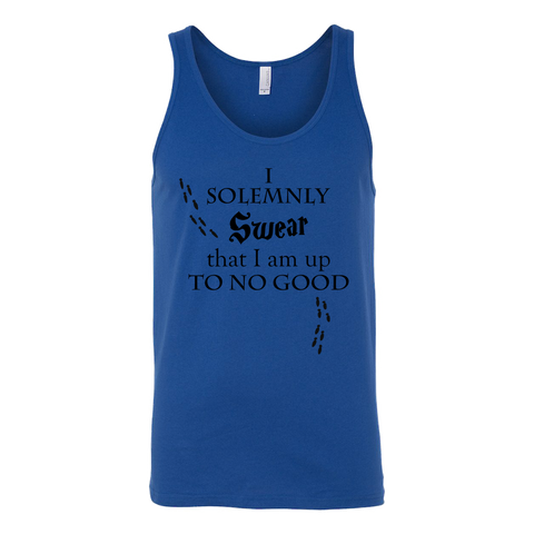 Harry Potter - i solemnly swear that i am up to no good - unisex tank top t shirt - TL00970TT