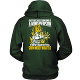 Super Saiyan Goku Show Mercy in Battle Unisex Hoodie T shirt - TL00440HO