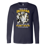 Super Saiyan Indiana Long Sleeve T shirt -TLF00068LS