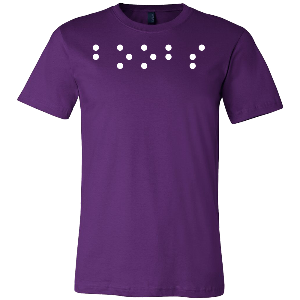 c2ffcc4d Boobs in Braille Funny Men Short Sleeve T Shirt - TL00685SS – TC ...