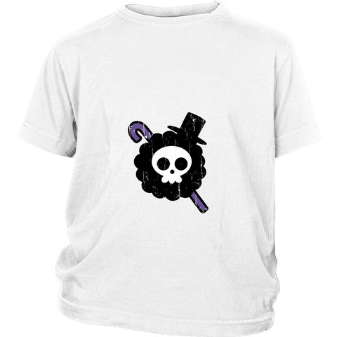 One Piece - Brook symbol - Youth Kid T Shirt - TL00902YS