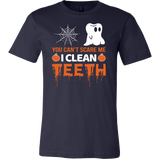 Halloween - You cant scare me i clean teeth - Men Short Sleeve T Shirt - TL00794SS