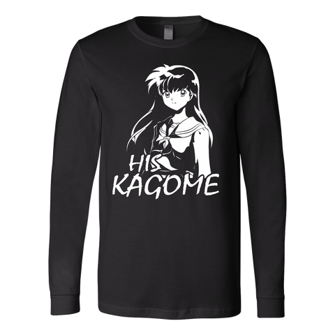 Couple Collection - His Kagome - Unisex Long Sleeve T Shirt - TL01167LS
