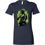 Super Saiyan Broly Legendary Woman Short Sleeve T shirt - TL00018WS