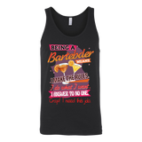 Bartender - Being a Bartender - Unisex Tank Top T Shirt - TL01323TT