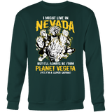 Super Saiyan Nevada Sweatshirt T shirt - TL00087SW