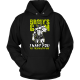 Super Saiyan Broly Training Gym Hoodie shirt - TL00540HO