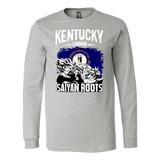Super Saiyan Kentucky Grown Saiyan Roots Long Sleeve T shirt -TL00152LS