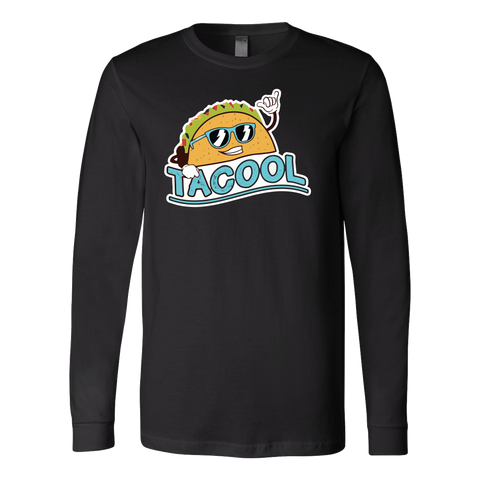 Taco mexican tacool Long Sleeve Funny T Shirt - TL00605LS
