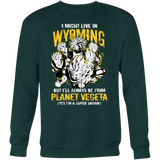 Super Saiyan Wyoming Sweatshirt T shirt - TL00106SW