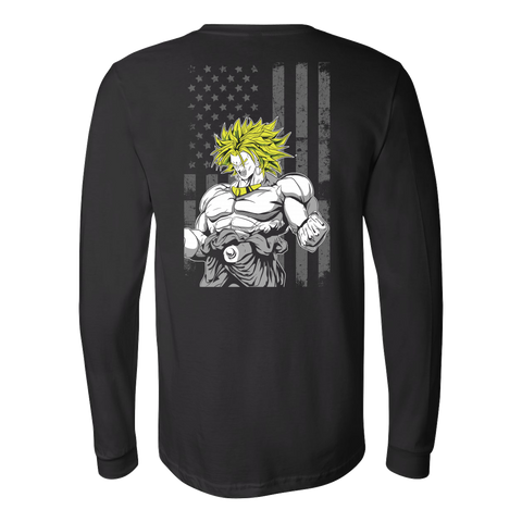 Super Saiyan - Legendary Saiyan - Unisex Long Sleeve T Shirt - TL01186LS