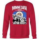 Super Saiyan Minnesota Growns Saiyan Roots Sweatshirt T shirt - TL00158SW