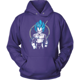 Super Saiyan Vegeta God Unisex Hoodie T shirt - TL00525HO