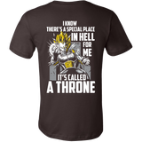 Super Saiyan Vegeta stay on throne Men Short Sleeve T Shirt - TL00230SS