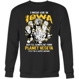 Super Saiyan Iowa Sweatshirt T shirt - TL00090SW