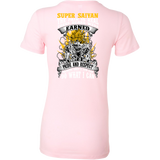 Super Saiyan I May Live in Woman Short Sleeve T shirt - Warriors Goku Fans - TL00047WS