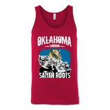 Super Saiyan Oklahoma Grown Saiyan Roots Unisex Tank Top T Shirt - TL00153TT