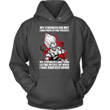 Super Saiyan Majin Vegeta Lift up when being knocked down Unisex Hoodie T shirt - TL00468HO