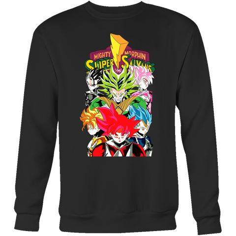 Super Saiyan - Power Ranger - Unisex Sweatshirt T Shirt - TL01213SW