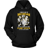 Super Saiyan Michigan Group Unisex Hoodie T shirt - TL00067HO