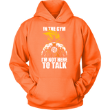 Super saiyan goku not to talk in gym training workout Unisex Hoodie T shirt - TL00553HO