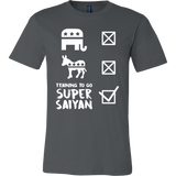 Super Saiyan Don't Care Politician, Training To Go Super Saiyan Men Short Sleeve T Shirt - TL00565SS