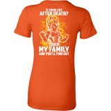 Super Saiyan - Ssj Vegeta protect family - Woman Short Sleeve T Shirt - TL00887WS
