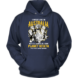 Super Saiyan I May Live In Australia Unisex Hoodie T shirt - TL00108HO