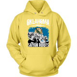 Super Saiyan Oklahoma Grown Saiyan Roots Hoodie Shirt - TL00153HO