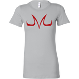 Super Saiyan Red Majin Vegeta Buu Symbol Woman Short Sleeve T shirt - TL00049WS