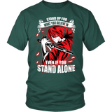 Rurouni Kenshin - Stand Up For What You Believe In - Men Short Sleeve T Shirt - TL01269SS