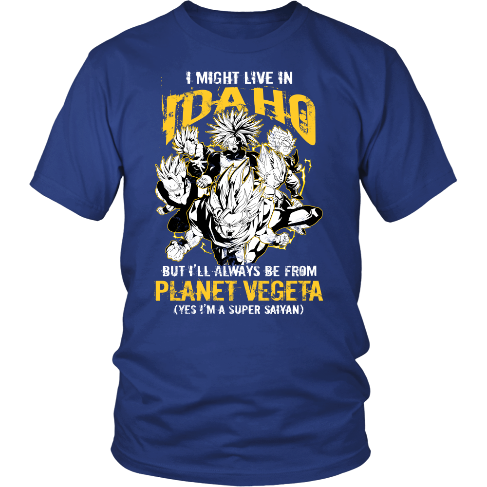 Super Saiyan - Idaho - Men Short Sleeve T Shirt - TL00101SS